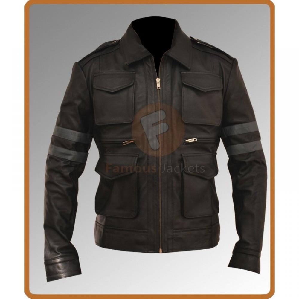 Resident Evil 6 Leon Kennedy Leather Jacket