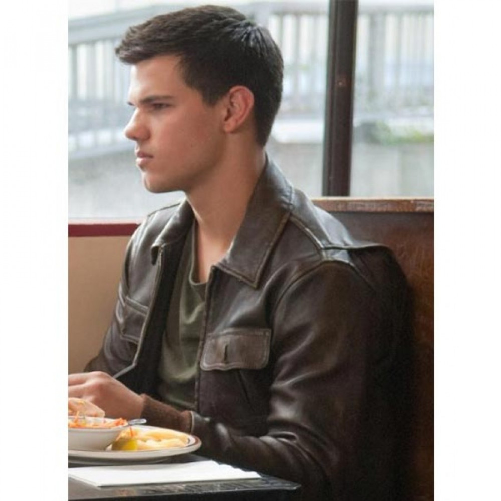 Abduction Taylor Lautner Leather Jacket