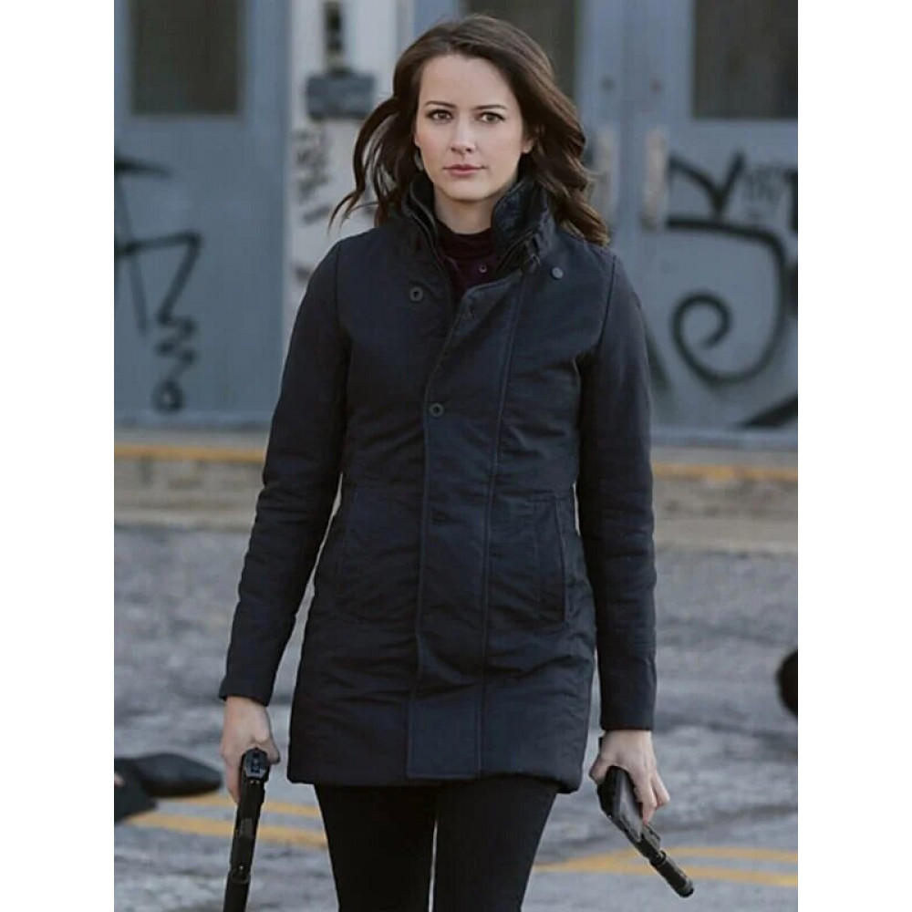 Amy Acker Person Of Interest Root Black Jacket