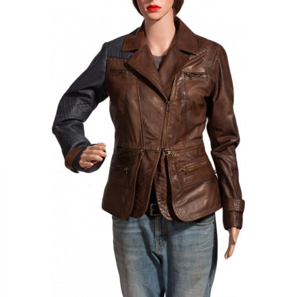 Amanda Rosewater Defiance Leather Jacket For Sale