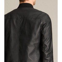 MOWER LEATHER BOMBER JACKET FOR SALE