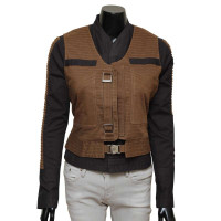 Star Wars Jyn Erso Leather Jacket with Vest For Sale