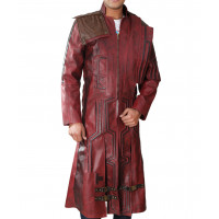 Guardians of The Galaxy Vol 2 Peter Quill Trench Coat For Sale