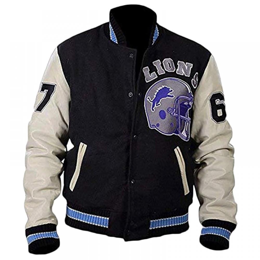Beverly Hill Cop Detroit Lions Axel Foley Bomber Jacket