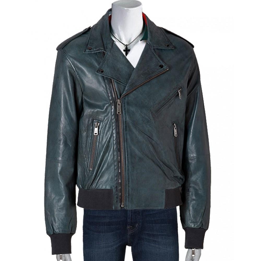 Alexander Black Men's Leather Jacket