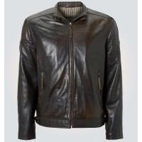 Dark Brown Leather Jacket