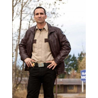 Sheriff Alex Romero Bates Motel Leather Jacket