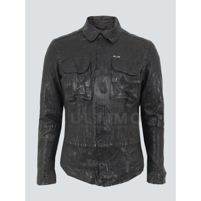 Falling Skies Leather Jacket worn by John Pope