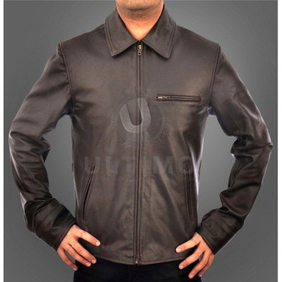 Inception Leonardo DiCaprio (Dominick Cobb) Brown Leather Jacket