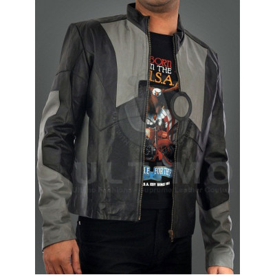 Tony Stark Leather Jacket Iron Man 2
