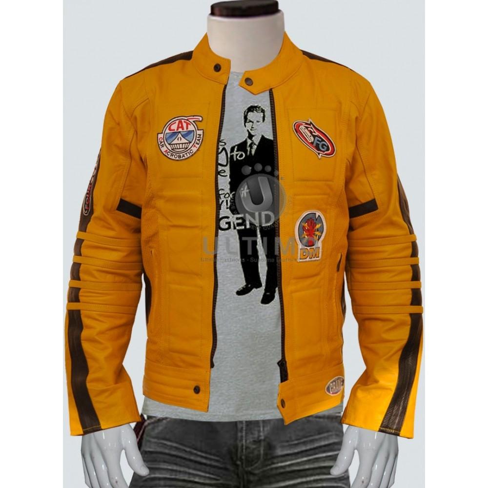Movie Kill Bill  Uma Thurman Women Leather Jacket