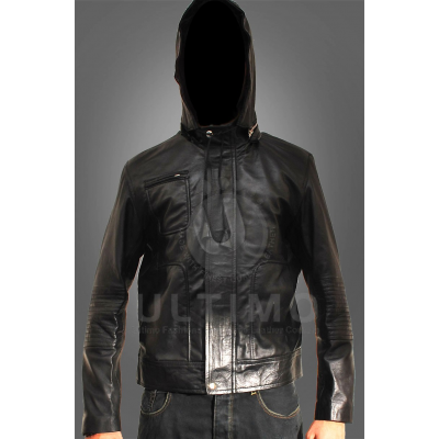 Mission Impossible 4 Ethan Hunt (Tom Cruise) Black Leather Jacket