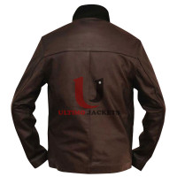 Real Casino Royale James Bond Leather Jacket
