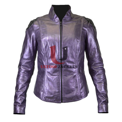 Movie Hit Girl Kick Ass 2 Leather Jacket