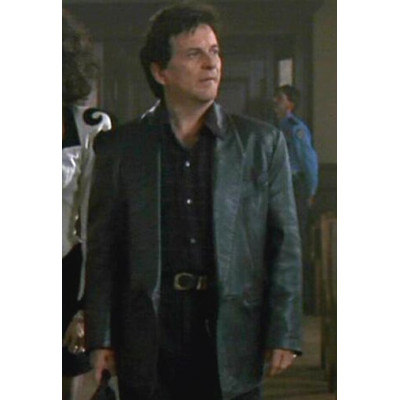 My Cousin Vinny Joe Pesi Black Leather Jacket