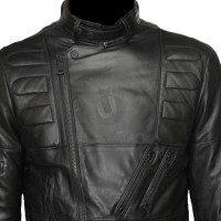 ROCKY III Black Sylvester Stallone Leather Jacket