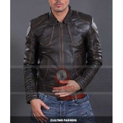 Snow Lockout Leather Jacket