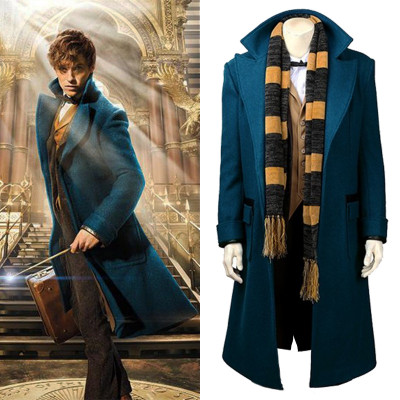 The Fantastic Beasts Newt Scamander Long Coat 2016
