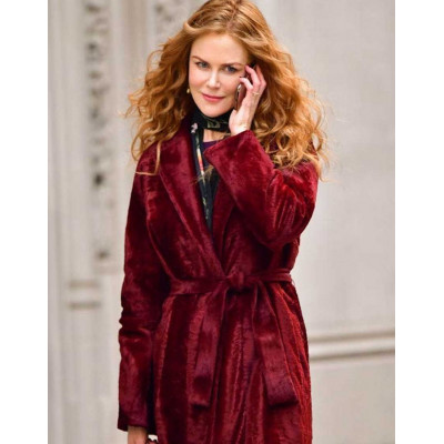 The Undoing Nicole Kidman Velvet Coat