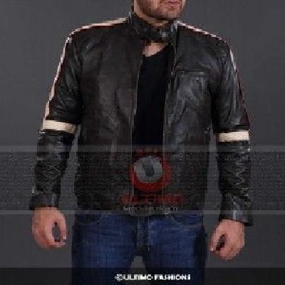 War of the Worlds Tom Cruise Black Leather Jacket