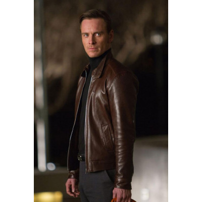 X Men First Class Magneto Michael Fassbender Leather Jacket