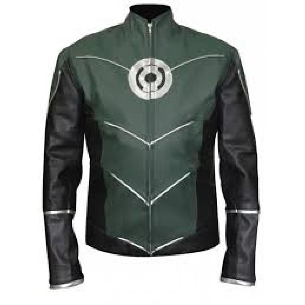Hal Jordan Green Lantern Leather Jacket