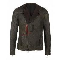 Sebastian Stan Leather Biker Jacket
