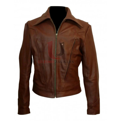 New X-Men Wolverine Days of Future Past Leather Jacket