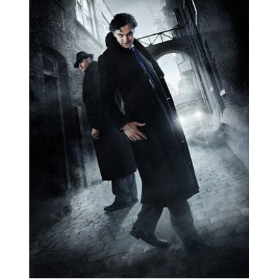 TV Series 2015 Jekyll & Hyde Fur Leather Long Coat