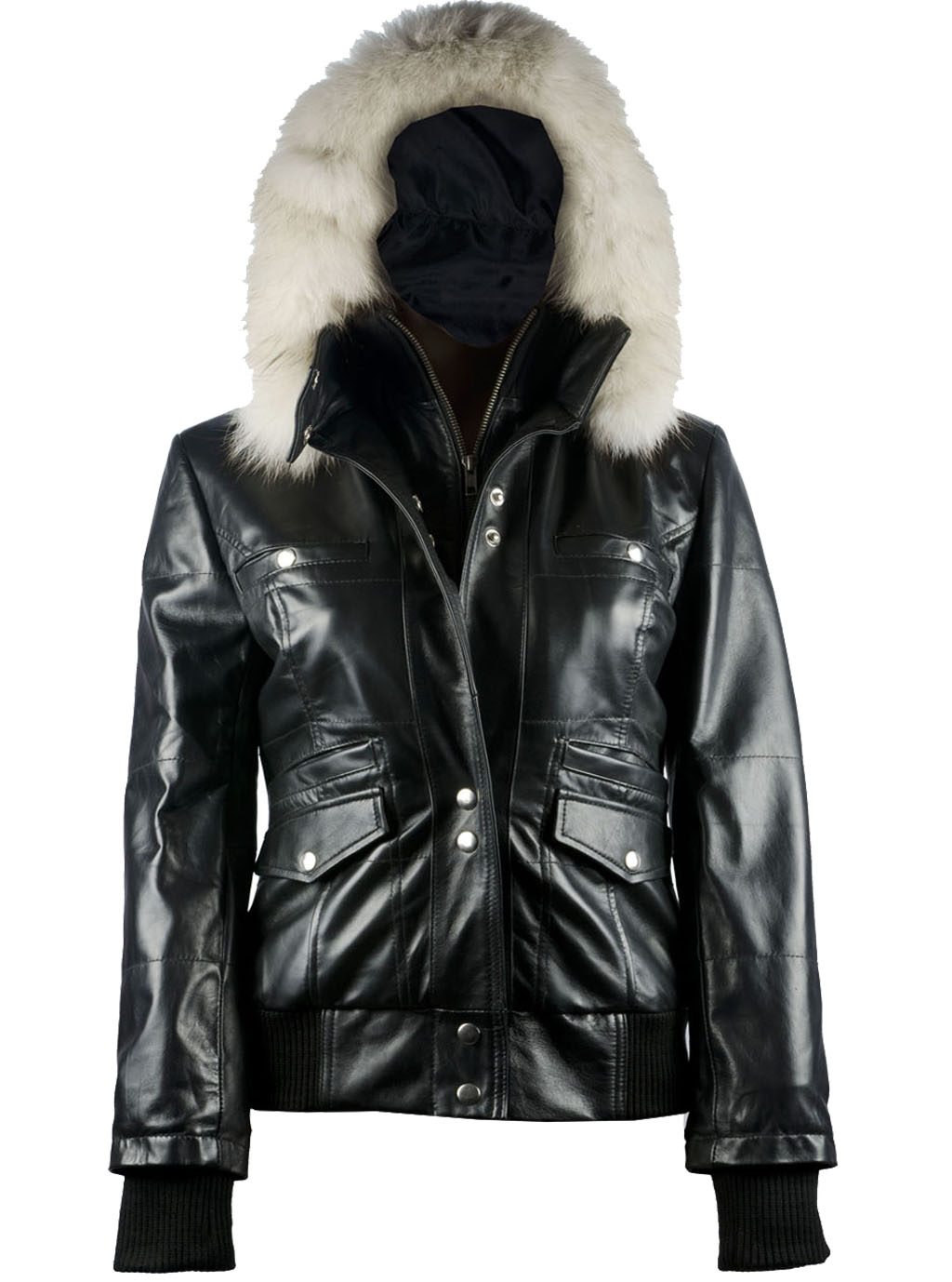 Womens leather jackets with hoods