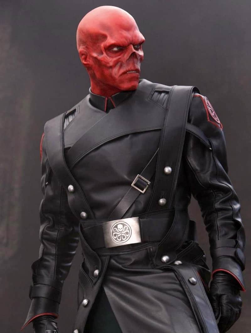 Captain America Red Skull Coat