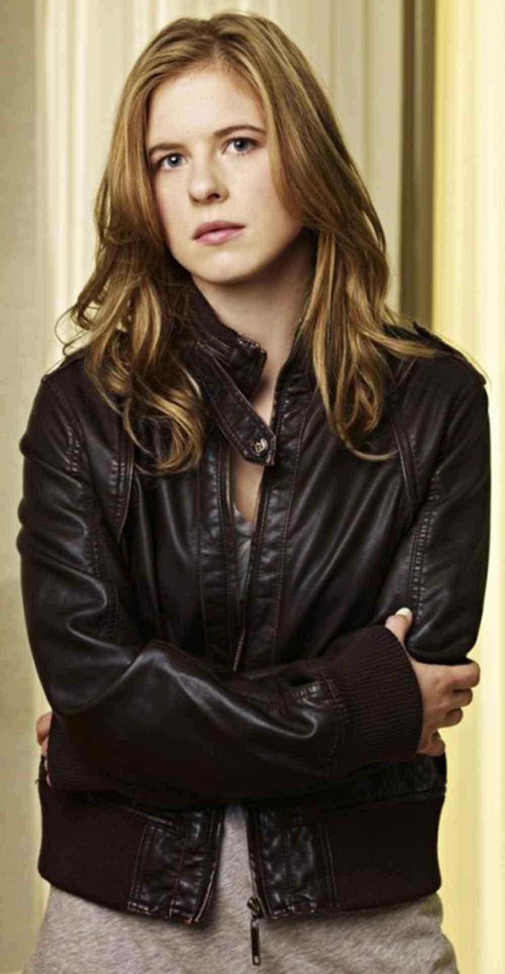 Lacy Rand Caprica Madga Leather Jacket