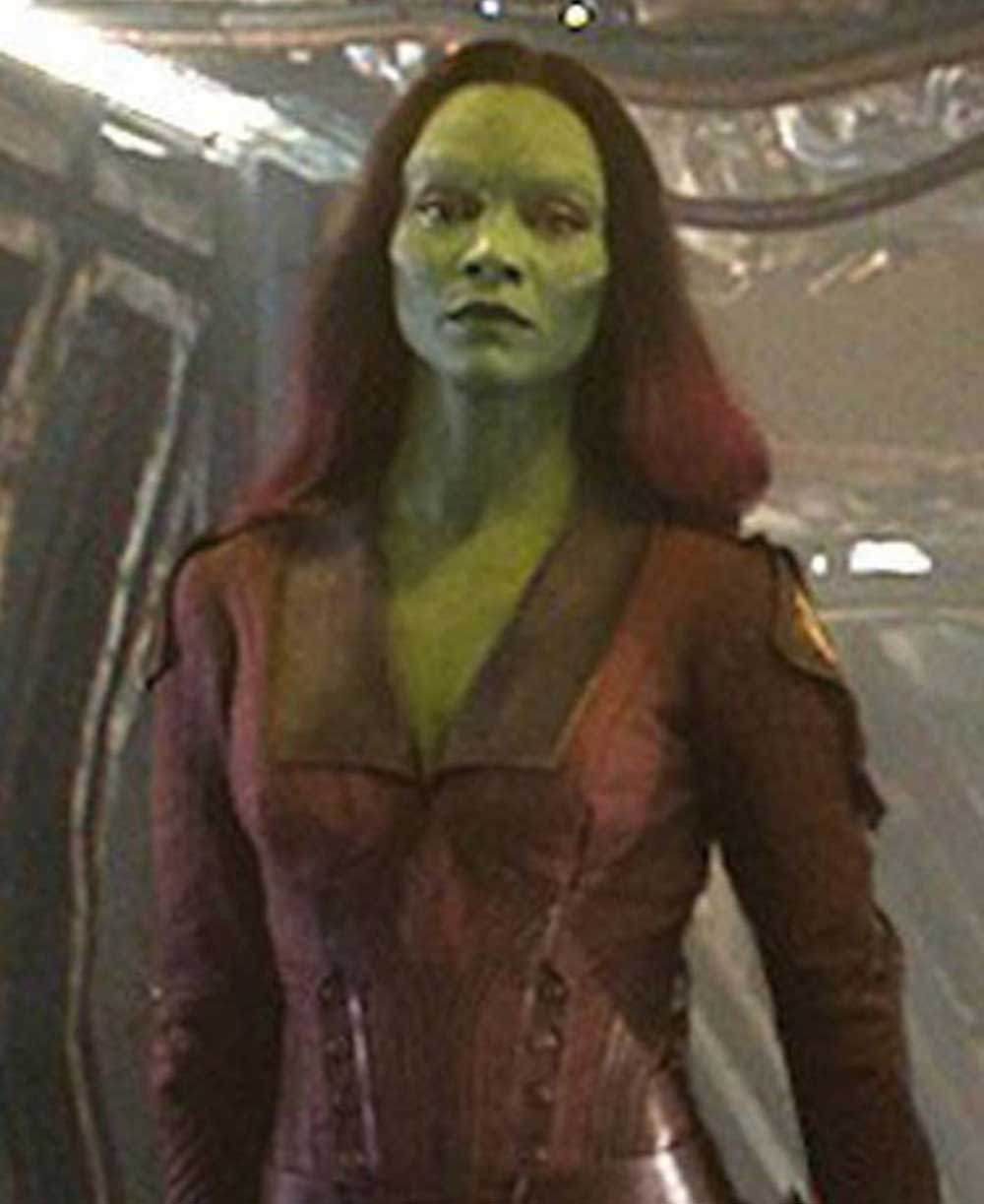 Get The Best Guardians Of The Galaxy Gamora Fancy Marron