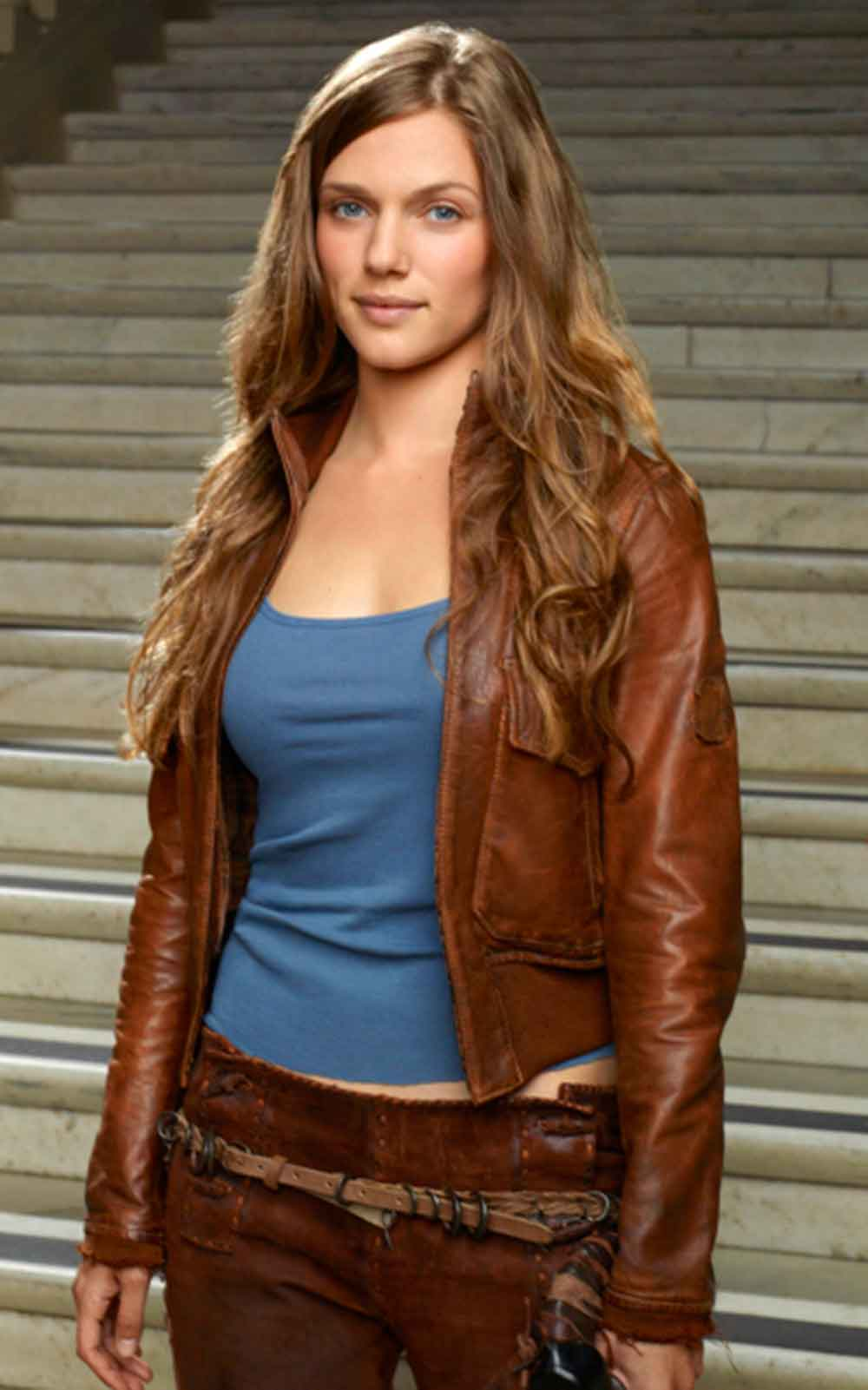 Brown leather jackets for men