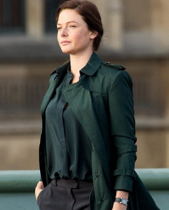 Rebecca Ferguson Trench Coat