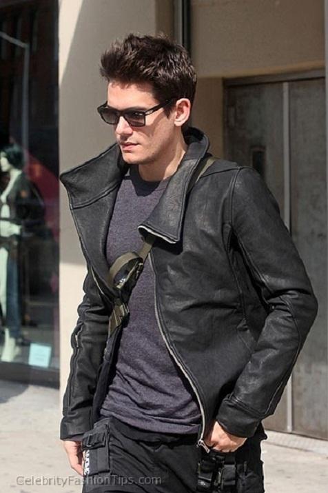John Mayer Leather Jacket