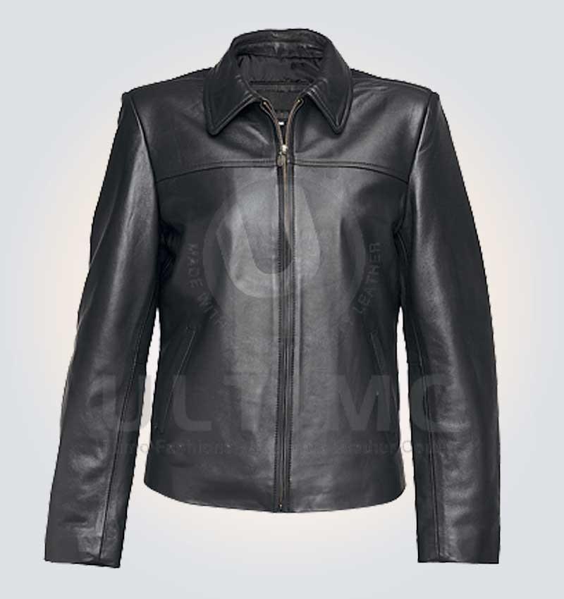 Stylish Black Woman: Black Women Stylish Leather Jacket